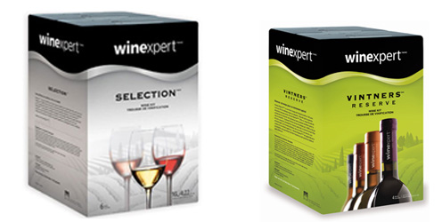 Winexpert Selection and Winexpert Vintners Reserve